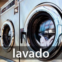 Maquinaria de lavandería